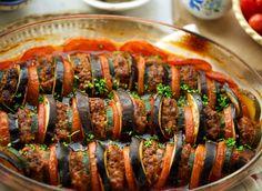 Low Carb Recipes, Healthy Recipes, Healthy Food, Ras El Hanout, Ratatouille, Eggplant, Sushi, Foodies, Sausage