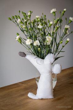 Stefka! Bawełniana przytulanka dla dzieci ręcznie szyta. Handmade! Zapraszam na blog www.charmingdesign.pl