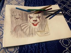 #pennywise #derrytheclown  #it #stephen king another #fuzzyart