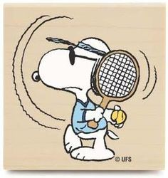 Snoopy - Tennis