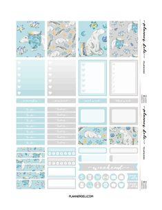 "Free ""Polar Buddies"" Printable Weekly Kit - Planner Deli"