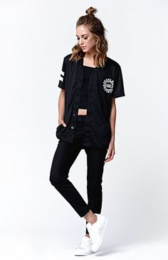 Young and Reckless Dissturbed Baseball Jersey T-Shirt at PacSun.com