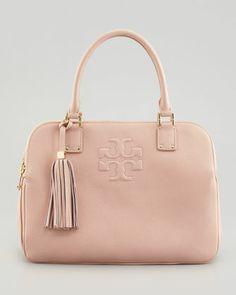 Thea Triple-Zip Tote Bag, Porcelain Pink - Tory Burch