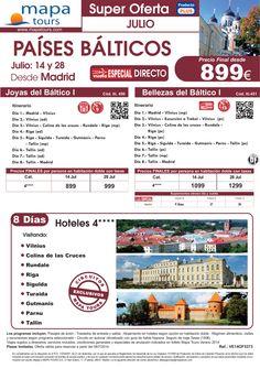 Países Bálticos salida Madrid Julio **Precio Final desde 899** ultimo minuto - http://zocotours.com/paises-balticos-salida-madrid-julio-precio-final-desde-899-ultimo-minuto/