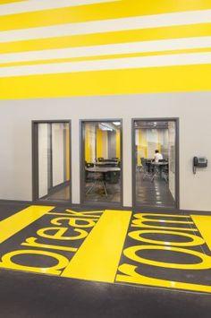 Break Room, signage, Western Maricopa Aviation Education Center - Architizer
