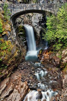 Christine Falls, Mount Rainier NP, WA