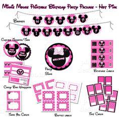 DIY Printable Minnie Mouse