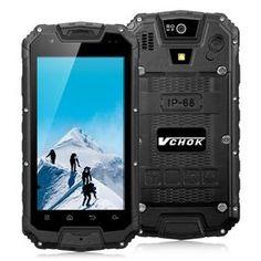 VCHOK M9 4G LTE 4.5inch IP68 Waterproof Rugged Phone Android 5.1 2GB 16GB MT6735…