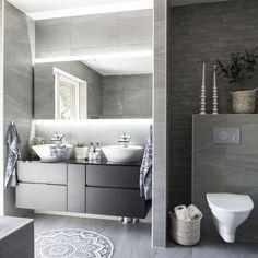 bathroomn in gray