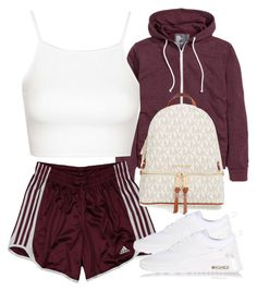 """Untitled #159"" by tdgaaf ❤ liked on Polyvore featuring Topshop, adidas, NIKE and MICHAEL Michael Kors"