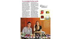 """Revista """"Dominical"""" encartada en el diario Últimas Noticias 2008 - """"La nostalgia hecha moda"""" #hotchocolatedesign"""