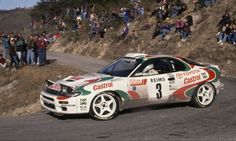 Toyota Celica Rally TTE Monte Carlo Win Didier Auriol