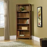Found it at Wayfair - August Hill Library Bookcase in Oiled Oak