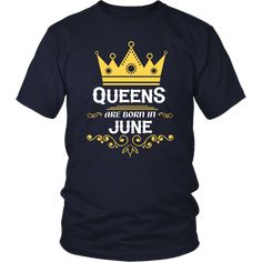 Queens Are Born In April - Birthday T-Shirt Queens are born in April T-Shirt Women's Birthday T-shirt and great for anyone who was born in April. Also great to wear to your birthday party or just hanging out with family and friends Gemini Shirts, Born In April, June, July 25, November Birthday, Love Me Forever, Birthday Shirts, Queens, Sweatshirts