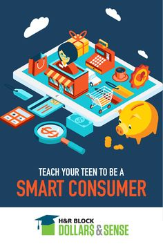 Recent studies show the average teen gets a weekly allowance of $16.90. Teach them some smart consumer skills now so they don't blow it all in one place.