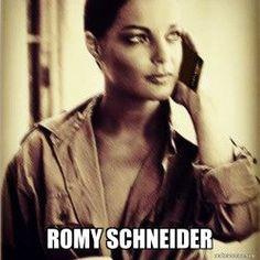 Romy Schneider using Babylonokia