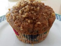 Need an easy weekend breakfast? How about banana nut muffins? With a streusel topping? No problem! These are simple, no fuss muffins that r. Muffin Recipes, Baking Recipes, Breakfast Recipes, Dessert Recipes, Desserts, Breakfast Bites, Kitchen Recipes, Baking Ideas, Banana Nut Muffins
