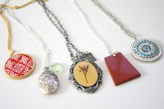 I made some jewelry. (plus a guest post)