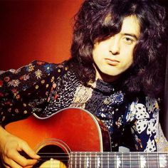 """I often think about how I can be more like Jimmy Page. regram I originally started playing on an acoustic guitar and consider it """"home"""" basically. 🎸 Here's a cool shot of young Jimmy Page! Jimmy Page, Jimmy Jimmy, Led Zeppelin, John Paul Jones, John Bonham, Robert Plant, Hard Rock, Rock N Roll, Guitar Songs"""