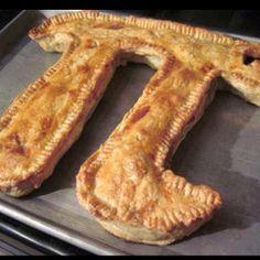 Picture of Drunken Irish Apple Pi(e) Pi Pie, Pie Mold, Happiness Recipe, Pie In The Sky, Cinnamon Almonds, Incredible Edibles, Thanksgiving Recipes, Just Desserts, Apple Pie