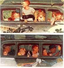 Vacation - Norman Rockwell