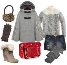 Fin de semana de nieve. El bolso tipo satchel, lo mejor del outfit!