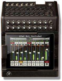 Oh my... Mackie DL1608 iPad Mixer