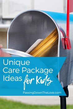 Unique Care Packages for Kids