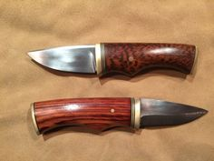 Hand made whittling/foraging knives by HoldsworthHuntKnives