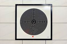 The London Underground's Latest Art Project: A Maze For Every Station.  Thanks JP.