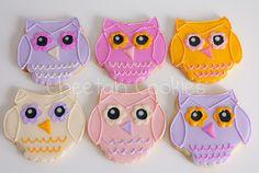 © Valentine's Day Owl cookies