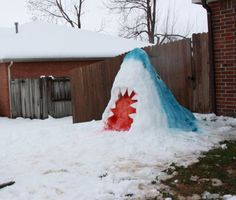 That's pretty awesome. May have to try that if we get snow this winter:) JAWS.