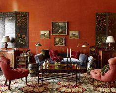 HOUSE TOUR: A Bold And Opulent Manhattan Townhouse - ELLEDecor.com