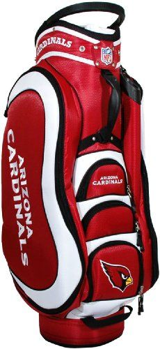 NFL Arizona Cardinals Medalist Golf Cart Bag * Want to know more, click on the image. Note: It's an affiliate link to Amazon