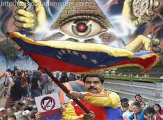 Entenda fielmente sobre a crise na Venezuela, sendo na verdade uma sabotagem econômica e política programada pelos Iluminati para desestabilizar.