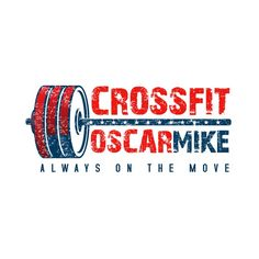 Crossfit logo design by Muchsin41 Strong, workout, bodybuilding, barbell, gym.