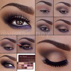 Look using the too faced chocolate bar palette. I'm getting this for my birthday so I will definitely recreate this incredible look.