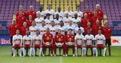 Der FC Red Bull Salzburg Kader im Jahr 2015