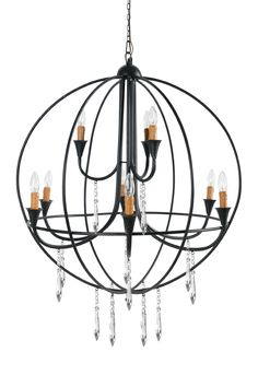 A Home Chandelier