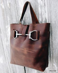 Stacey Leigh leather tote - Etsy