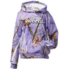 Lovin the purple camo sweater from cabelas