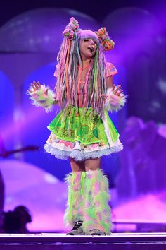 Lady Gaga 2014 ArtPOP ArtRAVE Ball  Costumes, these r the costumes she wore in Yyc