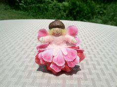 Pink flower fairy child on Etsy, $9.00