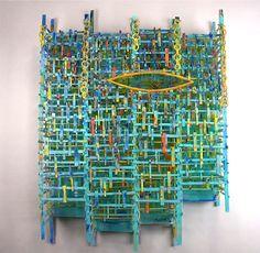 Jay Musler Goldilocks: Glass and Oil Paint