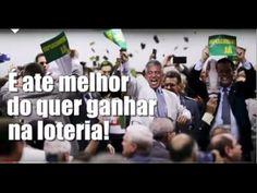 Quer ficar rico sem ter que trabalhar seja um politico no Brasil