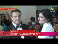 América mostró el emotivo casamiento entre Cecilia Milone y Nito Artaza Mariage, Singers