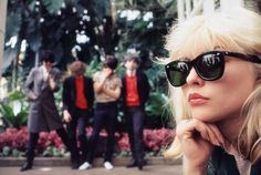 Blondie photographed at the Conservatory of Flowers in 1977 Photograph © Michael Zagaris Photography LLC / Reel Art Press