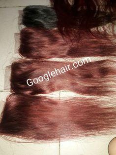 Hair Extensions Red Hair Closure Hair From Vietnam