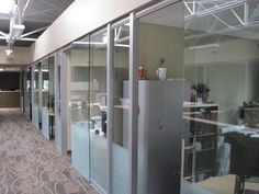 Higher Education glass office fronts