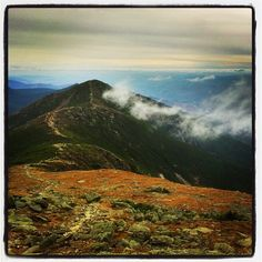 Hiked This! only we had no visibility :/ From Mt. Lafayette, looking south at Mt. Lincoln